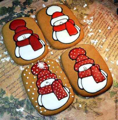50 Easy DIY Christmas Painted Rock Design Ideas (12)