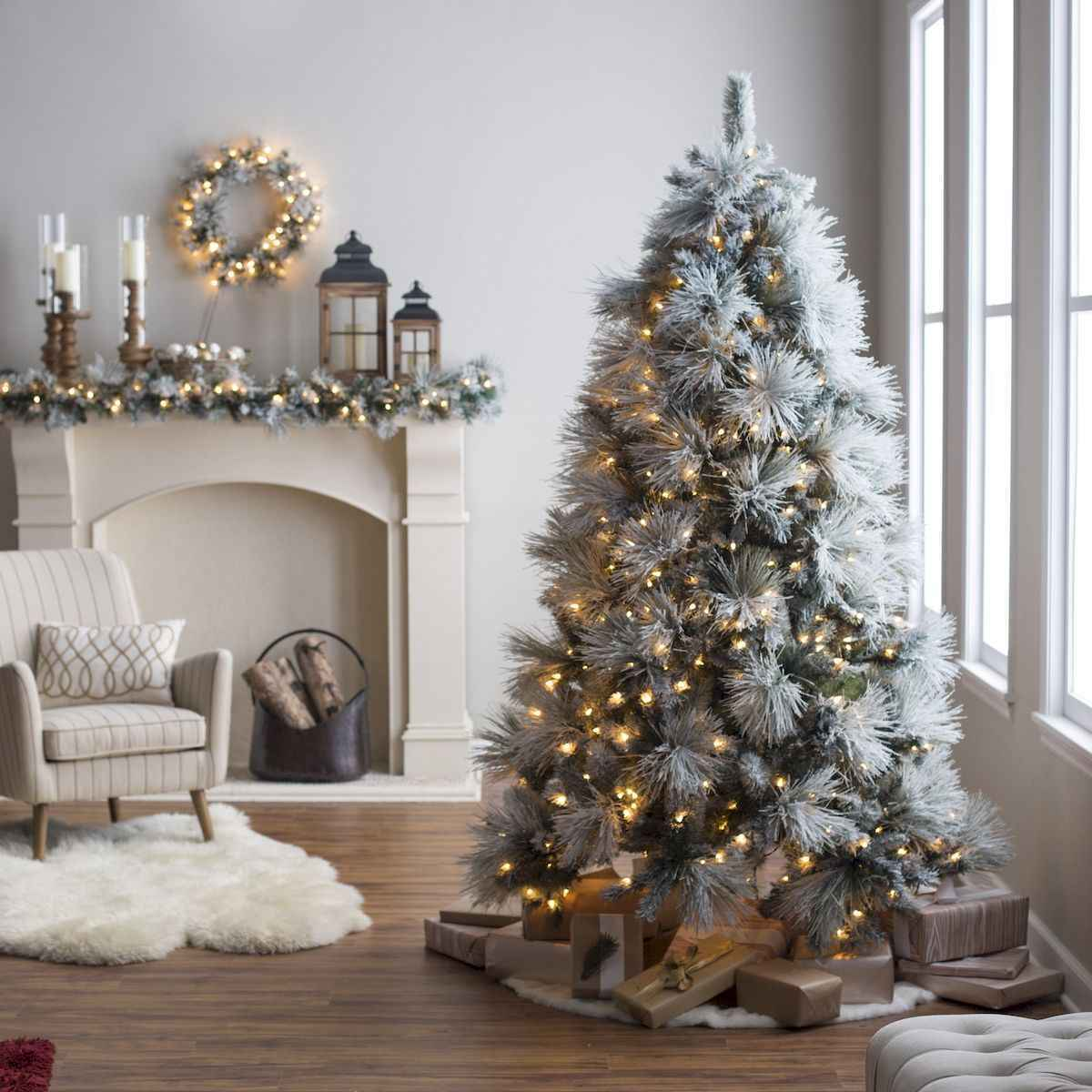 60 Best Farmhouse Christmas Decorating Ideas And Makeover (30)