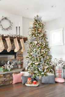60 Best Farmhouse Christmas Decorating Ideas And Makeover (31)