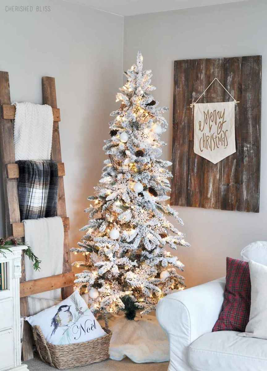 60 Best Farmhouse Christmas Decorating Ideas And Makeover (7)