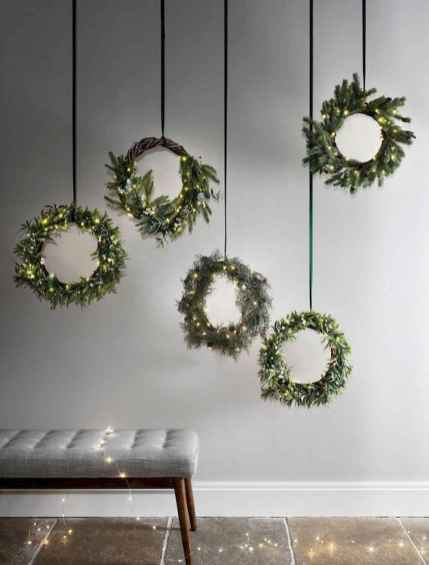 70 Best Christmas Lights Apartment Decorating Ideas And Makeover (42)
