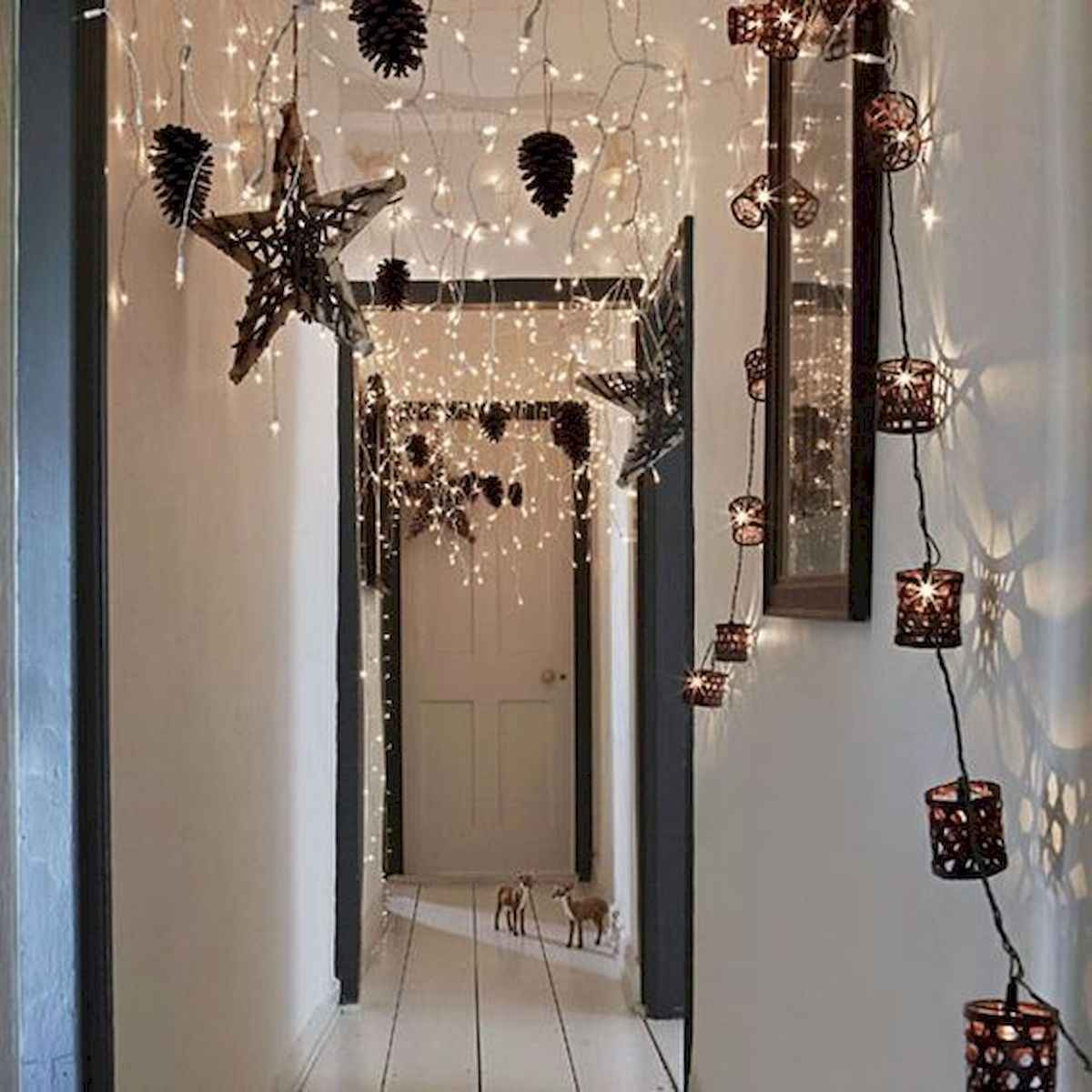 70 Best Christmas Lights Apartment Decorating Ideas And Makeover (64)