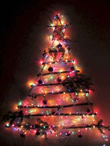 70 Best Christmas Lights Apartment Decorating Ideas And Makeover (68)