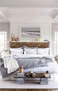 120 Awesome Farmhouse Master Bedroom Decor Ideas (100)