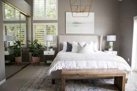 120 Awesome Farmhouse Master Bedroom Decor Ideas (101)