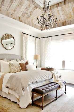 120 Awesome Farmhouse Master Bedroom Decor Ideas (78)