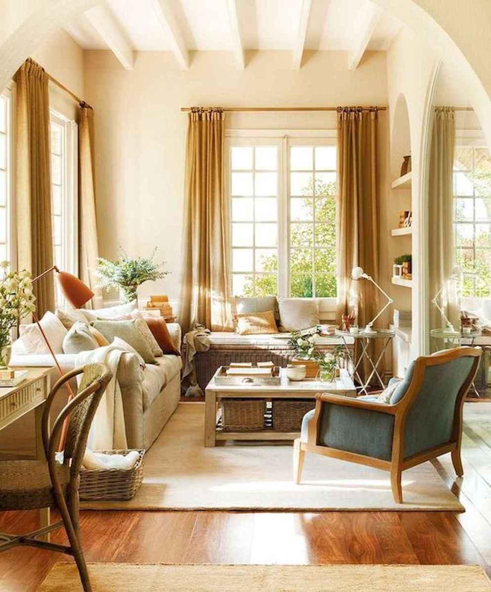 30 Stunning Farmhouse Living Room Decor Ideas (22)