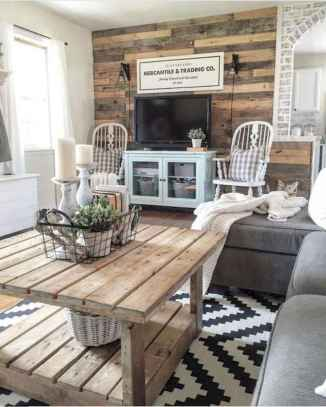 30 Stunning Farmhouse Living Room Decor Ideas (6)