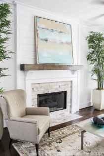 40 Awesome Fireplace Makeover For Farmhouse Home Decor (15)