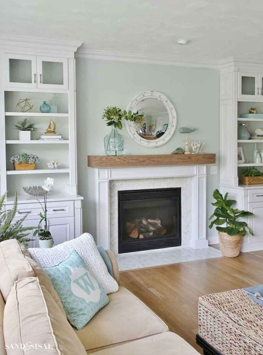 40 Awesome Fireplace Makeover For Farmhouse Home Decor (26)