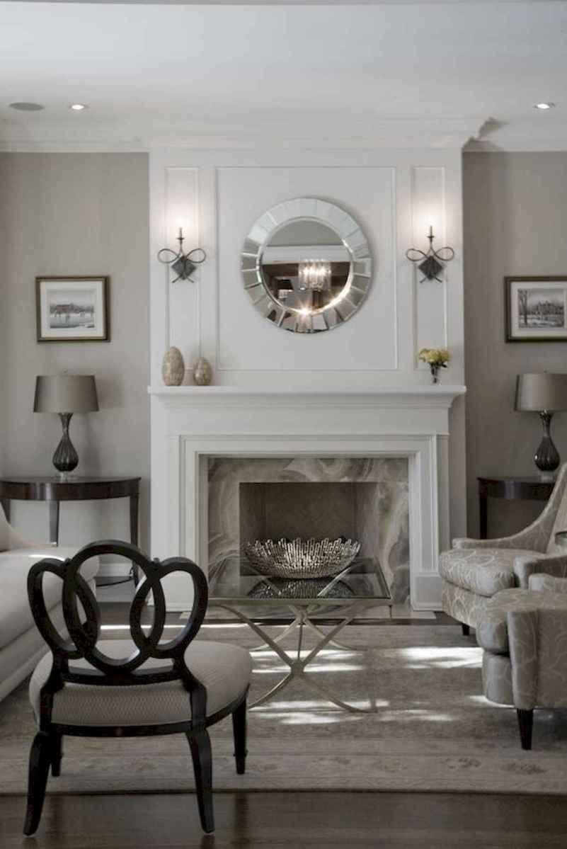 40 Awesome Fireplace Makeover For Farmhouse Home Decor (5)