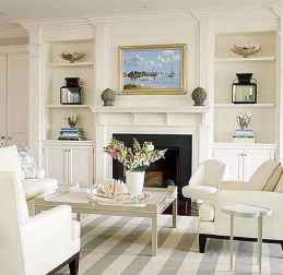 40 Awesome Fireplace Makeover For Farmhouse Home Decor (7)