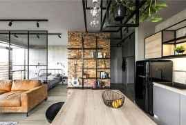 40 Rustic Studio Apartment Decor Ideas (27)