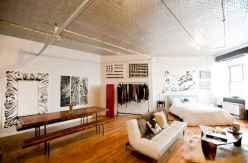 40 Rustic Studio Apartment Decor Ideas (37)