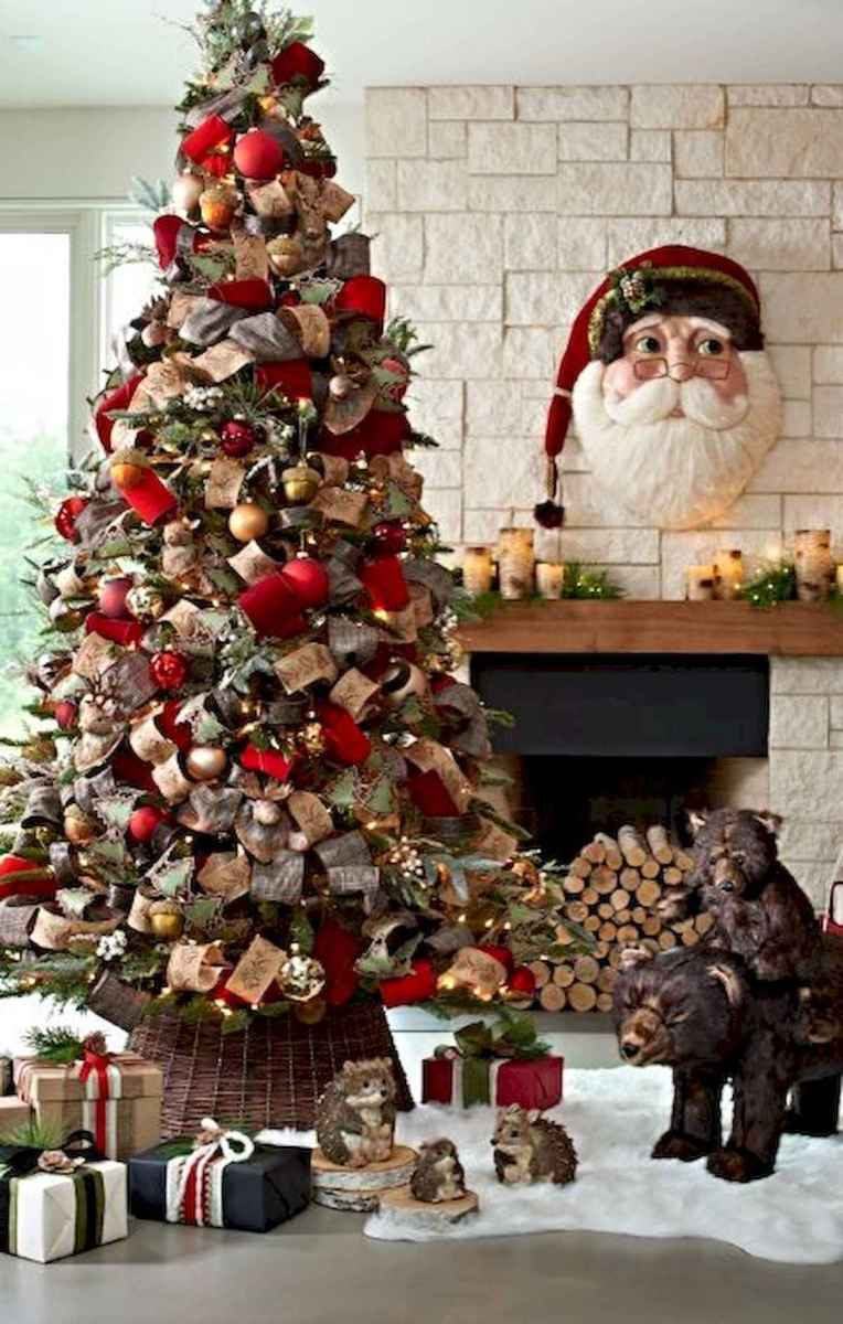 60 Awesome Farmhouse Christmas Decorating Ideas And Makeover (15)