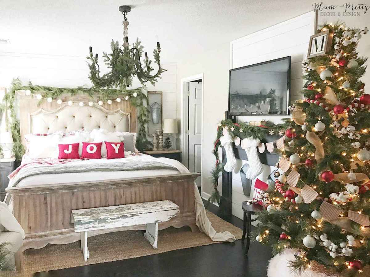 60 Awesome Farmhouse Christmas Decorating Ideas And Makeover (23)