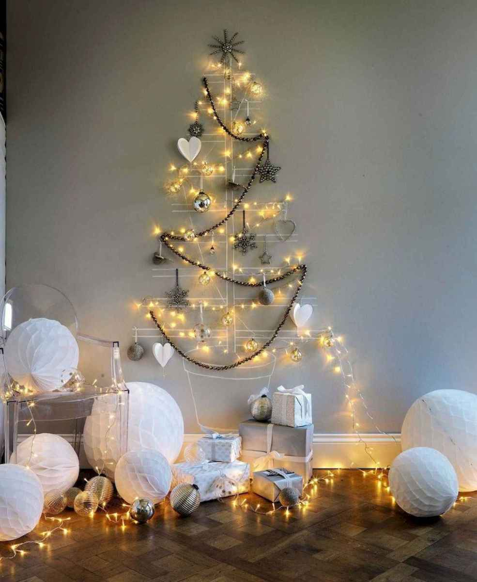 70 Awesome Christmas Lights Apartment Decorating Ideas And Makeover (4)