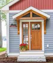 70 Best Modern Farmhouse Front Door Entrance Design Ideas (1)