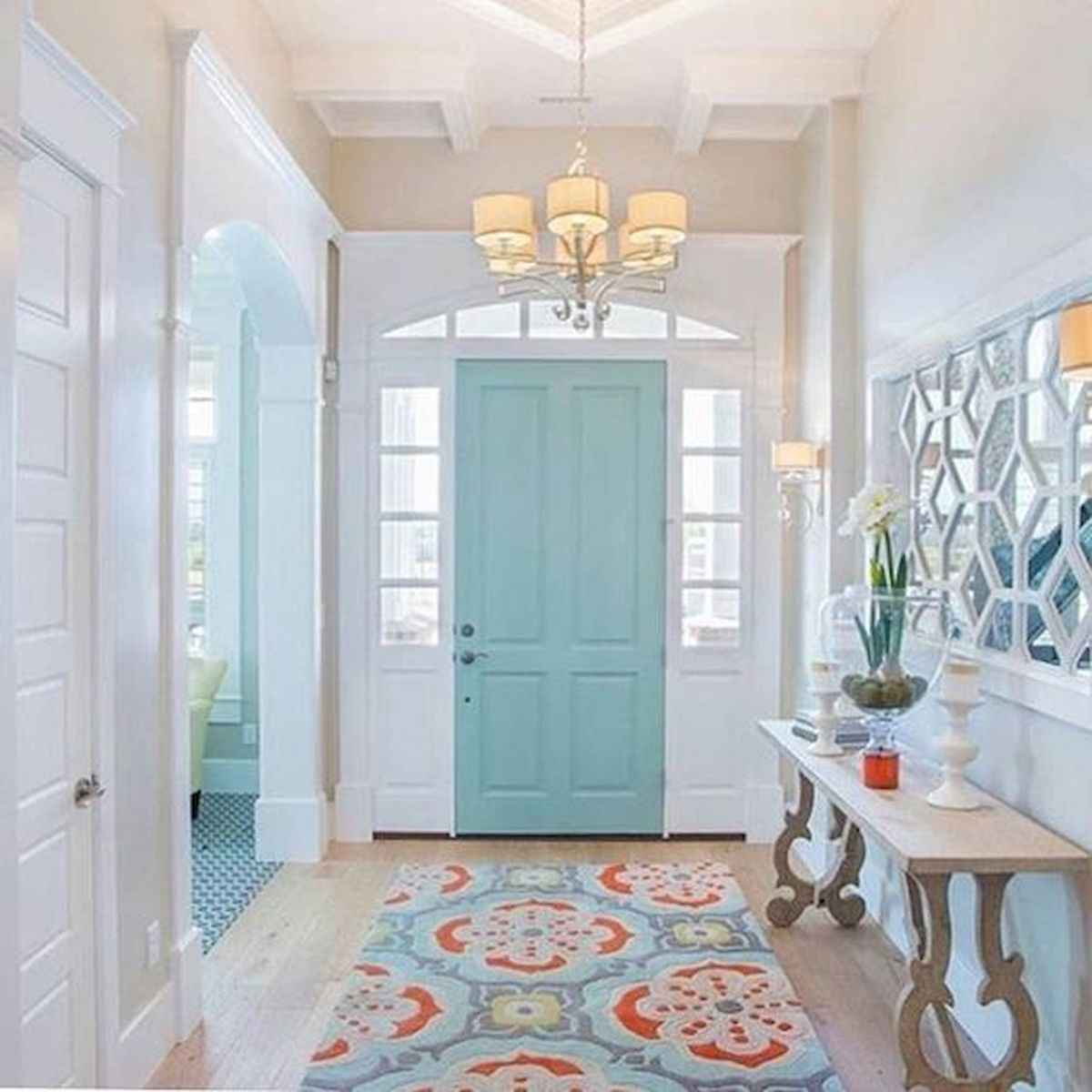 70 Best Modern Farmhouse Front Door Entrance Design Ideas (25)