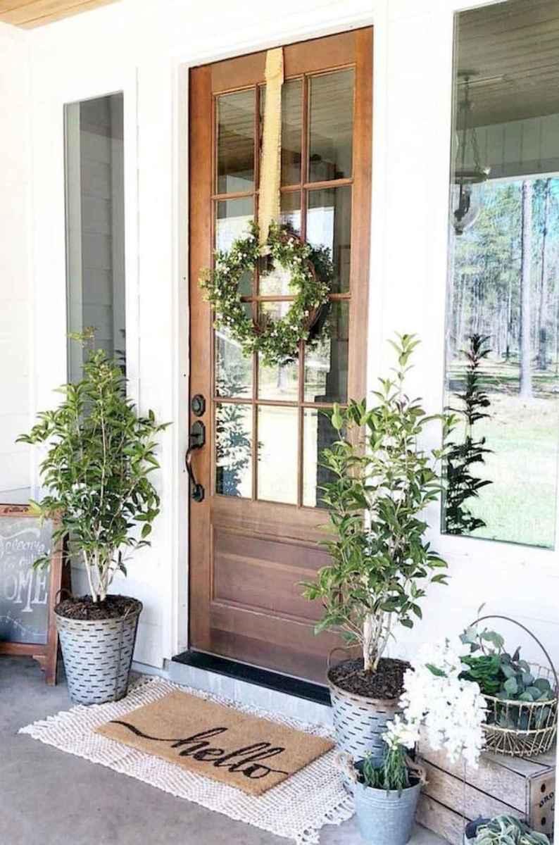 70 Best Modern Farmhouse Front Door Entrance Design Ideas (35)