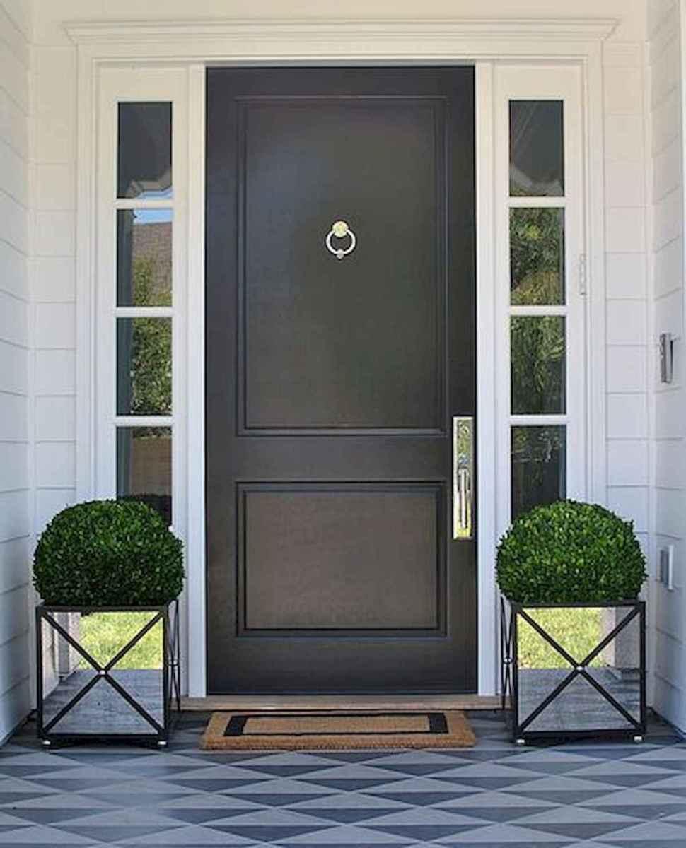 70 Best Modern Farmhouse Front Door Entrance Design Ideas (48)