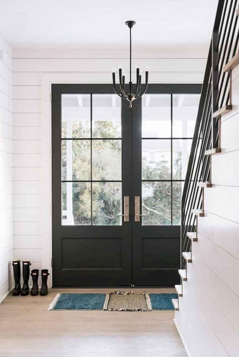 70 Best Modern Farmhouse Front Door Entrance Design Ideas (50)