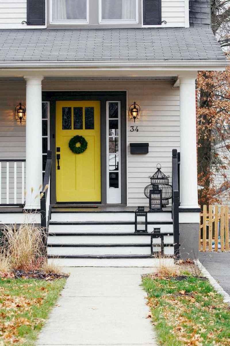 70 Best Modern Farmhouse Front Door Entrance Design Ideas (55)