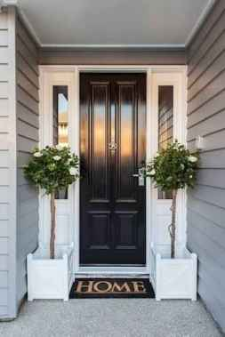 70 Best Modern Farmhouse Front Door Entrance Design Ideas (59)