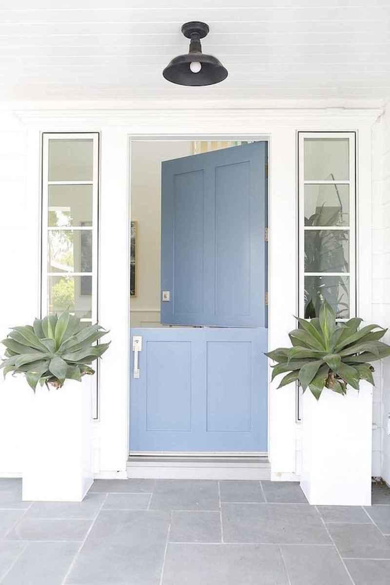 70 Best Modern Farmhouse Front Door Entrance Design Ideas (61)