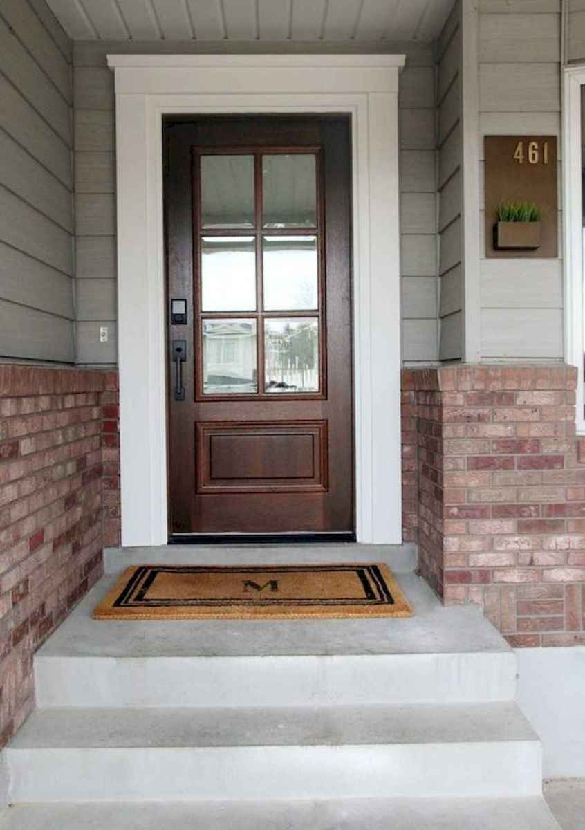 70 Best Modern Farmhouse Front Door Entrance Design Ideas (64)