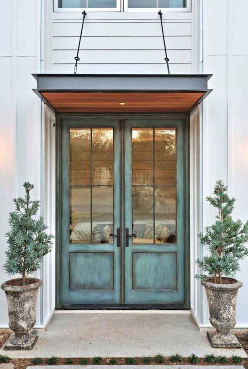 70 Best Modern Farmhouse Front Door Entrance Design Ideas (68)