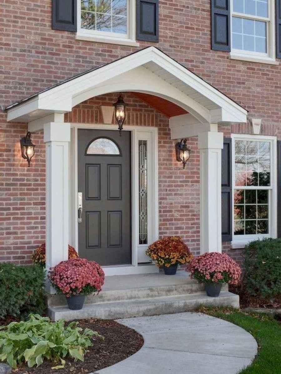 70 Best Modern Farmhouse Front Door Entrance Design Ideas (9)
