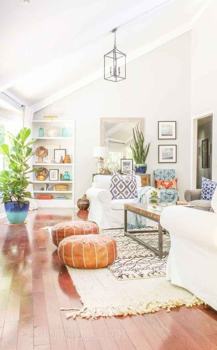 70 Elegant Modern Farmhouse Living Room Decor Ideas And Makeover (10)