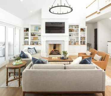 70 Elegant Modern Farmhouse Living Room Decor Ideas And Makeover (26)