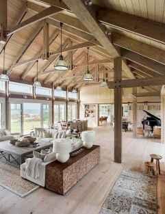 70 Elegant Modern Farmhouse Living Room Decor Ideas And Makeover (29)