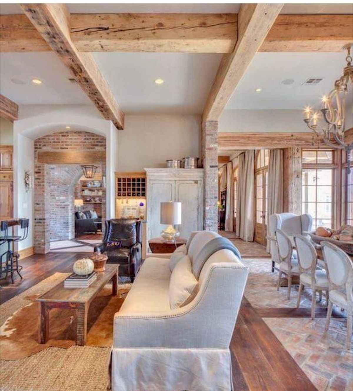 80 Awesome Modern Farmhouse Staircase Decor Ideas: 70 Elegant Modern Farmhouse Living Room Decor Ideas And