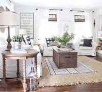 70 Elegant Modern Farmhouse Living Room Decor Ideas And Makeover (4)