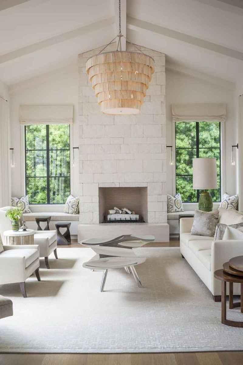 70 Elegant Modern Farmhouse Living Room Decor Ideas And Makeover (51)