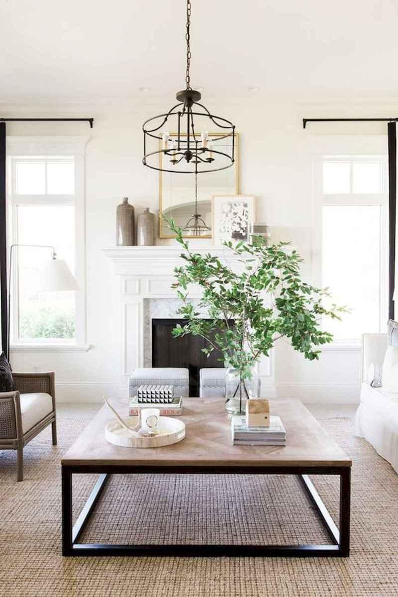 70 Elegant Modern Farmhouse Living Room Decor Ideas And Makeover (58)
