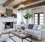 70 Elegant Modern Farmhouse Living Room Decor Ideas And Makeover (61)