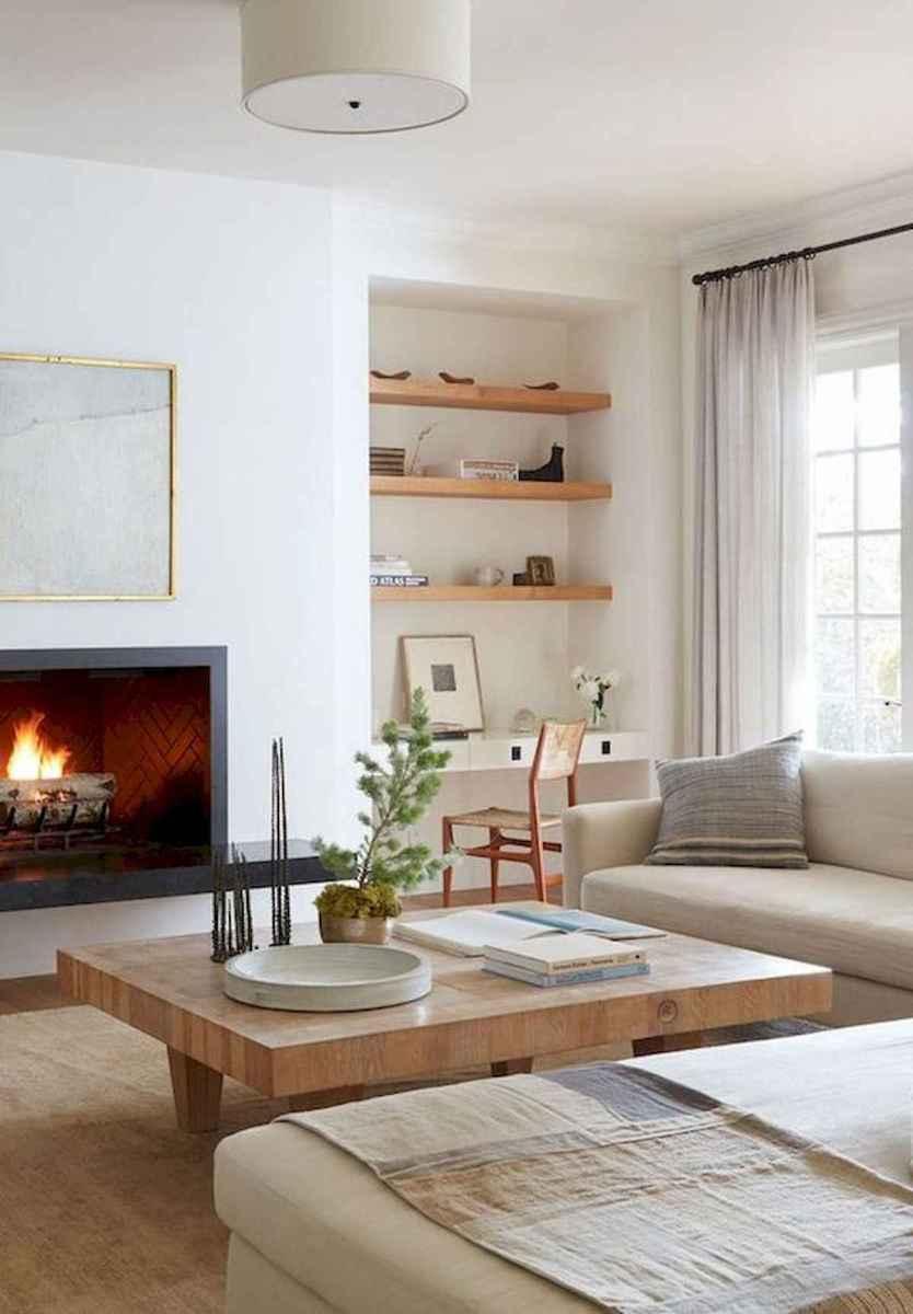 70 Elegant Modern Farmhouse Living Room Decor Ideas And Makeover (9)