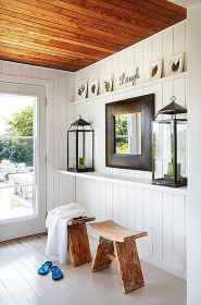 70 Farmhouse Wall Paneling Design Ideas For Living Room, Bathroom, Kitchen And Bedroom (19)