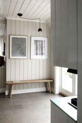 70 Farmhouse Wall Paneling Design Ideas For Living Room, Bathroom, Kitchen And Bedroom (71)