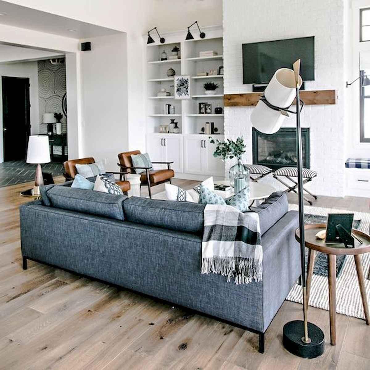 80 Elegant Furniture For Modern Farmhouse Living Room Decor Ideas (24)