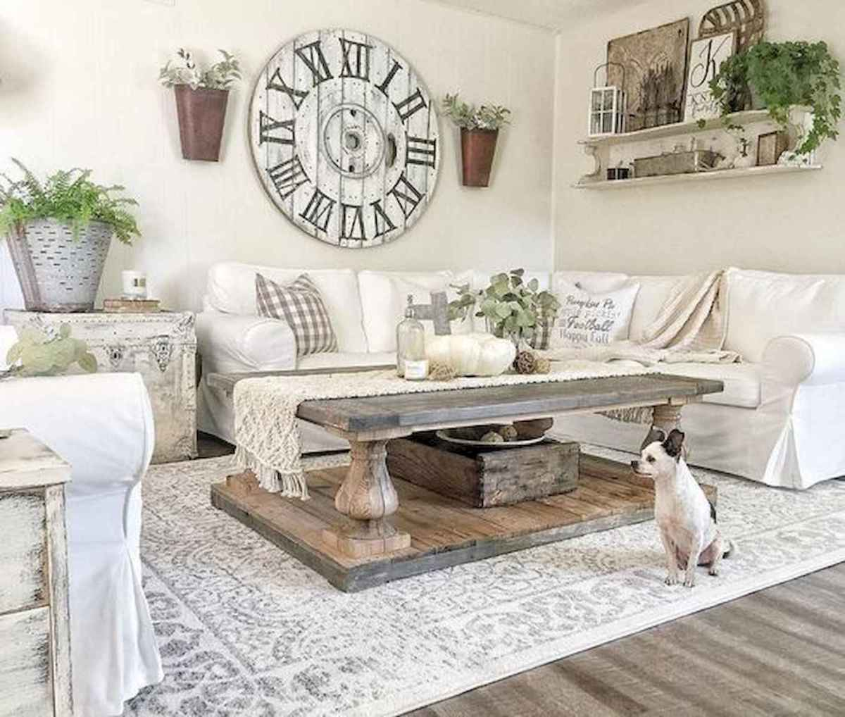 80 Elegant Furniture For Modern Farmhouse Living Room Decor Ideas (31)