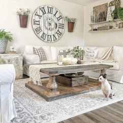 Images Of Modern Farmhouse Living Rooms Grey Paint Room 80 Elegant Furniture For Decor Ideas 31
