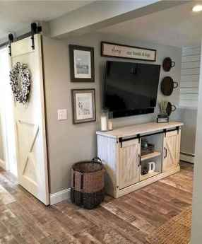 80 Elegant Furniture For Modern Farmhouse Living Room Decor Ideas (56)