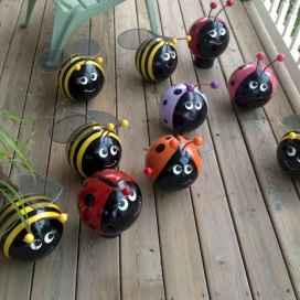24 Beautiful DIY Garden Ball Ideas (17)