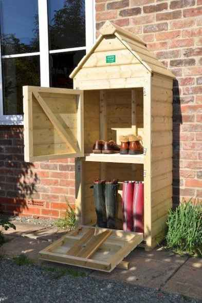25 Awesome Unique Small Storage Shed Ideas for your Garden (15)