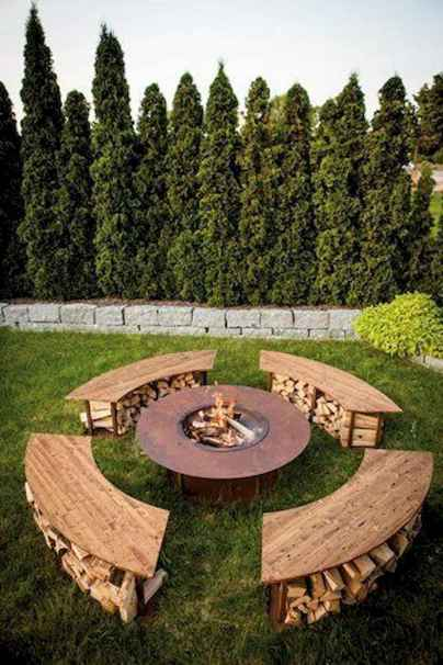 25 Creative Sunken Sitting Areas For a Mesmerizing Backyard Landscape (10)